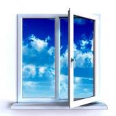 Двухстворчатое окно ПВХ С энергосберегающим с/п