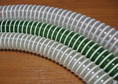 Шланг напорно-всасывающий ПВХ, ребристый, для воздуха, D=25мм EMTKFLEX