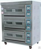 Печь хлебопекарная электрическая ярусная YXD (3-6), 3 яруса, 6 противней