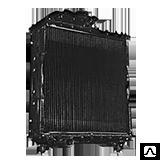Радиатор МТЗ (медный) (70У-1301010 (Бак пластм)