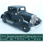 Декоративная модель, ретро автомобиль, XIX в., черный