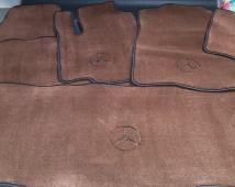 Полный комплект автоковриков 8,5 мм коричневый