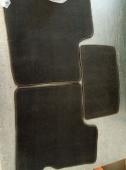 Передние автоковрики 6 мм черный