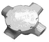 Коробка алюминиевая взрывозащищённая ККА-50