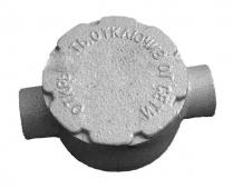 Коробка алюминиевая взрывозащищённая КПА-25