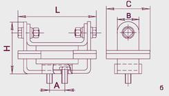 Шинодержатель ШП2-375А У1