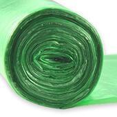 Мусорный мешок ПНД 30л NEW PL с ручками 1уп/30шт (1/40/60) зелёные