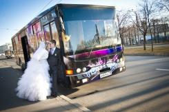 Автобус на свадьбу. Челябинск
