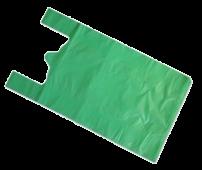 Майка ПНД 42*65 25мкм Пластик  Большая цветная 1уп/100шт(1/5)01001350