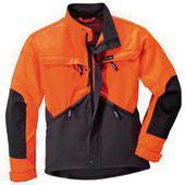 Защитная куртка DYNAMIC, Антрацит-оранжевый