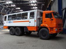 Вахтовый автобус. Челябинск