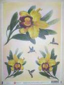 Декупажная карта «Лимонная красавица», мини. Челябинск
