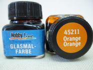 Краска лаковая для росписи по стеклу «Glasmal-Farbe», оранжевая, прозрачная. Челябинск