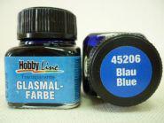 Краска лаковая для росписи по стеклу «Glasmal-Farbe», синяя, прозрачная. Челябинск