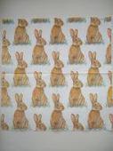 Салфетка для декупажа 615, «Пасхальные кролики». Челябинск