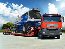 Перевозка негабаритных грузов. Челябинск