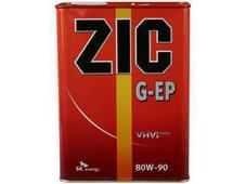 Масло трансмиссионное ZIC G-EP 80W-90 4л. Челябинск