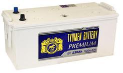 Аккумулятор TYUMEN PREMIUM 6СТ-220L  518*228*236 (ток 1420А) конус евро. Челябинск