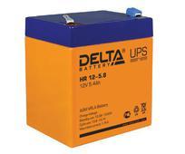 Аккумулятор Delta HR 12-5.8 5.4А/ч  (90*70*107). Челябинск