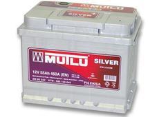 Аккумулятор Mutlu Calcium Silver 55 Ah оп. Челябинск