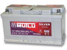 Аккумулятор Mutlu Calcium Silver 100 Ah оп. Челябинск