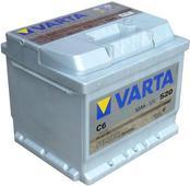 Аккумулятор Varta С6 Silver Dynamic 52 Ah оп. Челябинск