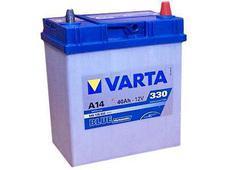 Аккумулятор Varta A14 Blue dynamic 40 Ah яп.кл. оп JIS. Челябинск