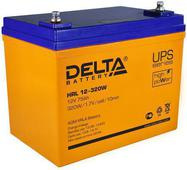 Аккумулятор Delta HRL W 12-320 75А/ч (258*166*215). Челябинск