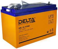 Аккумулятор Delta HRL W 12-470 100А/ч (330*171*222). Челябинск