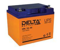 Аккумулятор Delta HRL 12-45 45А/ч (197*165*170). Челябинск