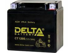 Аккумулятор Delta CT1205 12V 5Ah (YTX5L-BS, YTZ7S, YT5L-BS) оп. Челябинск