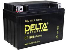 Аккумулятор Delta CT1209 12V 9Ah (YTX9-BS) пп. Челябинск