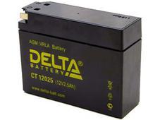 Аккумулятор Delta CT12025 12V 2,5Ah (YTX4B-BS). Челябинск