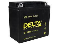 Аккумулятор Delta CT1210 12V 10Ah (YB9A-A, YB9-B) пп. Челябинск