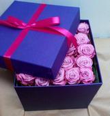 К44 Коробка с розами. Челябинск