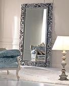 """Напольное зеркало """"Кингстон"""" (florentine silver). Челябинск"""