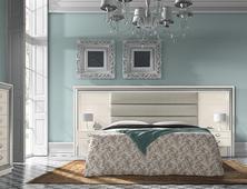 Спальня Dormitorio White Silver. Челябинск