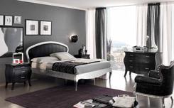 Спальня Vogue oval black, white. Челябинск