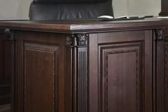 Стол для кабинета (темный). Челябинск
