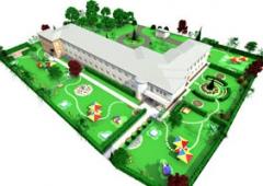 Дизайн проект благоустройства территории «Минимум». Челябинск
