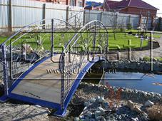 мостик кованый. Челябинск