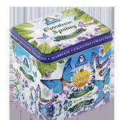 Жестяная подарочная банка-музыкальная шкатулка «Overture Spring» — чай «Земляника со сливками». Челябинск