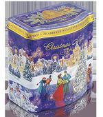 Жестяная подарочная банка «Christmas Night» — чай «Королевский Цейлон». Челябинск