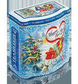 Жестяная подарочная банка «Happy New Year» — чай «Эрл Грей». Челябинск