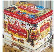 Жестяная подарочная банка музыкальная шкатулка «Winter Dream» — чай «Волшебная ночь». Челябинск