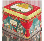 Жестяная подарочная банка-музыкальная шкатулка «Бенефис» - Чай «Королевский Цейлон». Челябинск