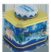 Новогодний подарочный набор с чашкой «Рождественская ночь». Челябинск