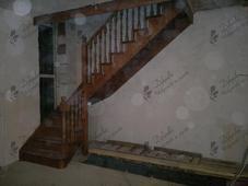 Деревянная лестница, бук. Челябинск