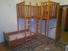 Кровать деревянная. Челябинск