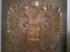 Панно «Герб РФ». Челябинск